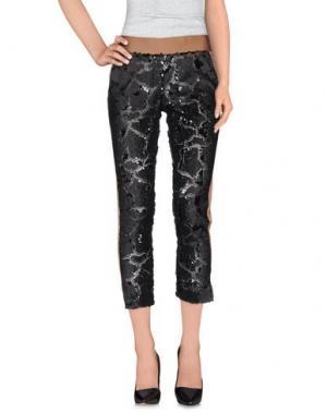 Повседневные брюки NINEMINUTES. Цвет: черный