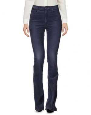 Повседневные брюки (+) PEOPLE. Цвет: стальной серый