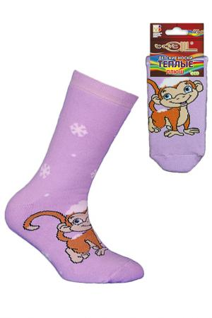 Носки детские Totall. Цвет: сиреневый