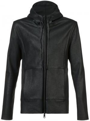 Hooded jacket Giorgio Brato. Цвет: чёрный