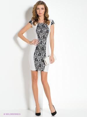 Платье La Via Estelar. Цвет: белый, черный