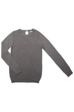 Джемпер Button Blue. Цвет: серый