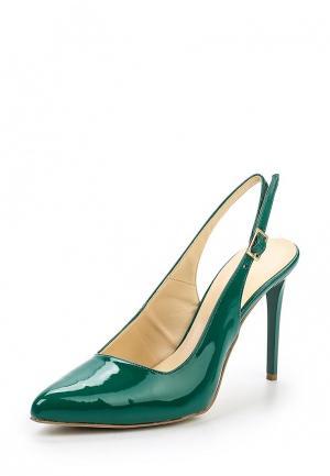Туфли Sisley. Цвет: зеленый