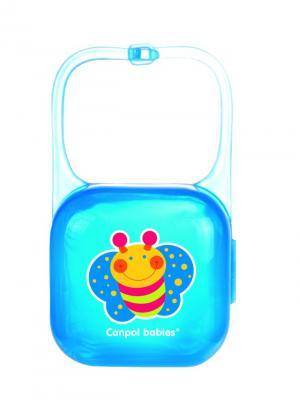 Контейнер для пустышки, цвет: синий Canpol babies. Цвет: синий