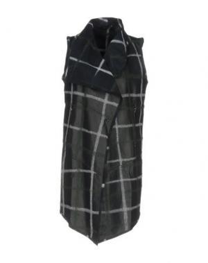 Легкое пальто VINTAGE DE LUXE. Цвет: темно-синий