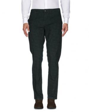 Повседневные брюки DEPARTMENT 5. Цвет: темно-зеленый