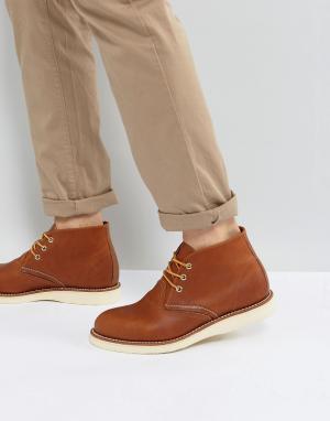 Red Wing Ботинки чукка. Цвет: рыжий