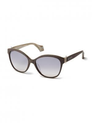 Солнцезащитные очки VW 910S 02 Vivienne Westwood. Цвет: коричневый