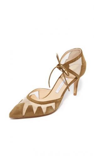 Туфли-лодочки Alexa Bionda Castana. Цвет: хаки