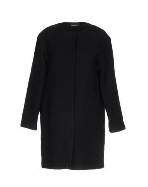 Пальто LAURA URBINATI. Цвет: черный