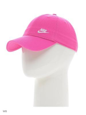 Бейсболка TWILL H86 - BLUE Nike. Цвет: розовый