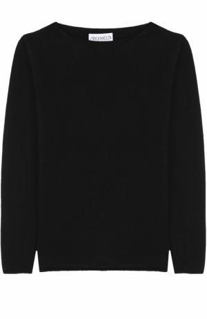 Кашемировый пуловер Simonetta. Цвет: черный