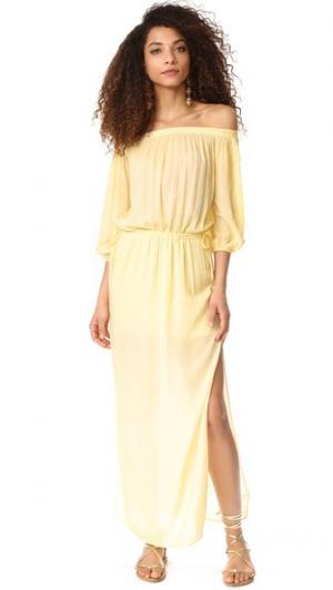 Платье YFB Clothing Canyon Young Fabulous & Broke. Цвет: сливочный