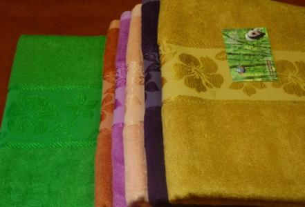 Бамбуковое полотенце 50*90 см Sunvim