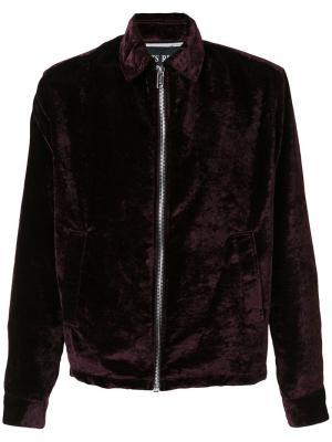 Куртка на молнии Enfants Riches Deprimes. Цвет: красный