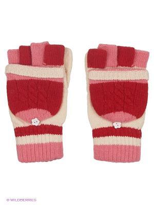 Перчатки Maxval. Цвет: красный, розовый, белый
