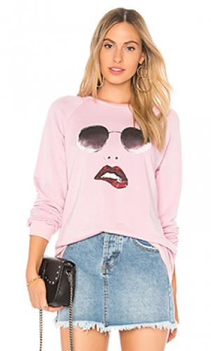 Пуловер noleta Lauren Moshi. Цвет: розовый