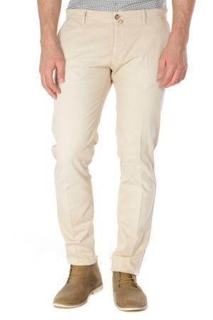 Брюки классического кроя Trussardi Jeans. Цвет: 05 бежевый