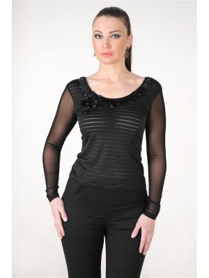 Блузка MONO collection. Цвет: черный