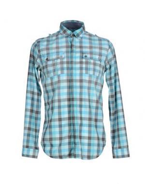 Pубашка N° 4 FOUR. Цвет: светло-зеленый