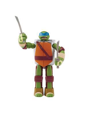 Черепашка-оружие трансформер, Леонардо, Mutation Playmates toys. Цвет: синий
