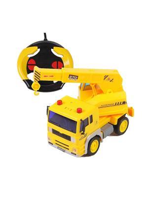 Машина радиоуправляемая. Эвакуатор. YAKO. Цвет: желтый