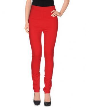 Повседневные брюки SPACE STYLE CONCEPT. Цвет: красный