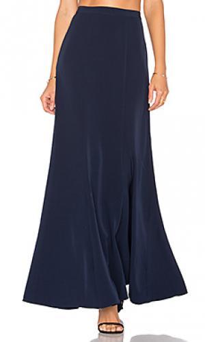 Широкая юбка cindy Lovers + Friends. Цвет: синий