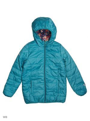 Куртка S`Cool. Цвет: темно-синий, зеленый, розовый