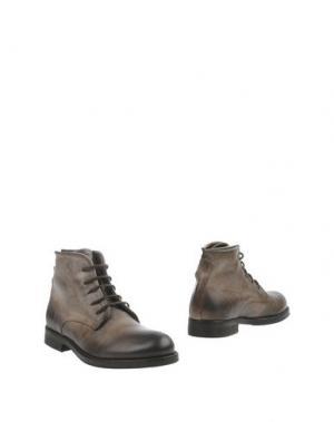 Полусапоги и высокие ботинки PAWELK'S. Цвет: темно-коричневый