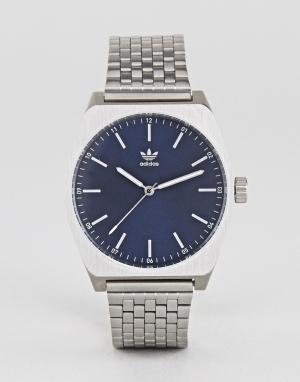 Adidas Серебристые часы Z02 Process. Цвет: серебряный