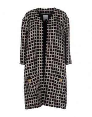 Легкое пальто EDWARD ACHOUR. Цвет: черный