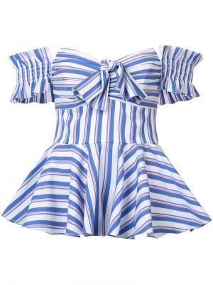 Striped blouse Caroline Constas. Цвет: многоцветный
