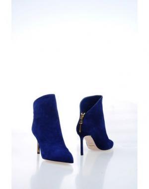 Полусапоги и высокие ботинки SEBASTIAN. Цвет: синий