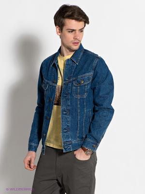 Куртка LEE. Цвет: синий