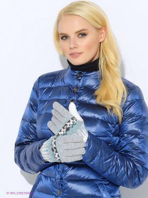 Перчатки Moodo. Цвет: синий