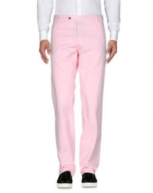 Повседневные брюки PANAMA. Цвет: розовый