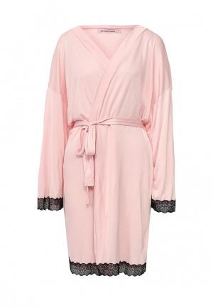 Халат домашний TrendyAngel. Цвет: розовый