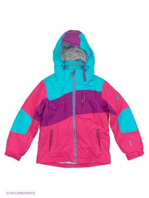 Куртка 3 в 1 High Experience. Цвет: голубой, фиолетовый, розовый