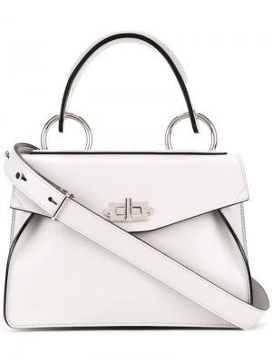 Маленькая сумка-тоут Hava Proenza Schouler. Цвет: белый