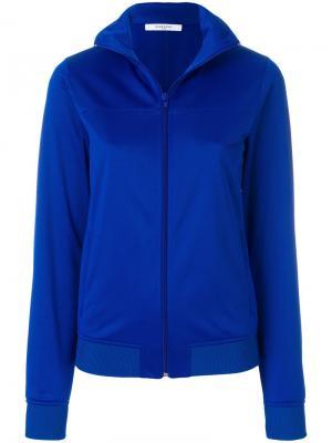 Куртка с воротником-стойкой Givenchy. Цвет: синий