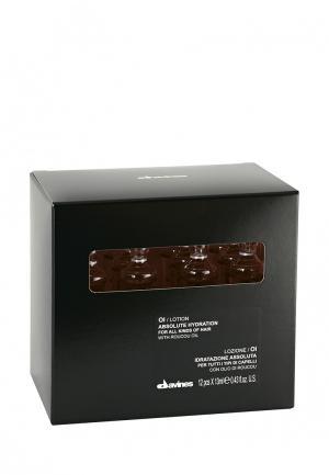 Лосьон для увлажнения волос Davines. Цвет: черный