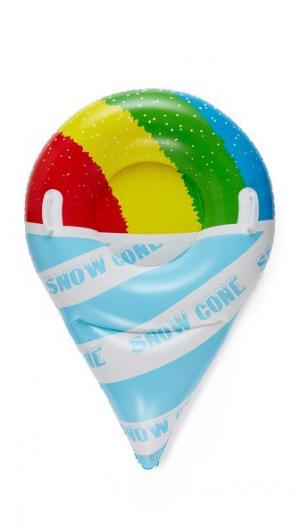 Ватрушка для катания по снегу в форме фруктового мороженого-рожка Gift Boutique