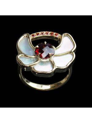 Кольцо Диковинка. Цвет: красный, белый