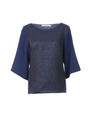 Блуза Nathalie Vleeschouwer. Цвет: синий