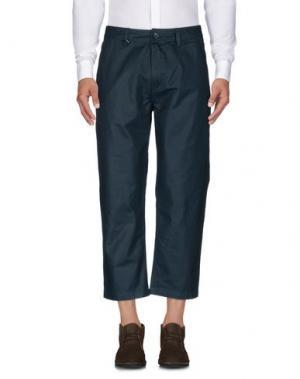 Повседневные брюки PUBLISH. Цвет: цвет морской волны
