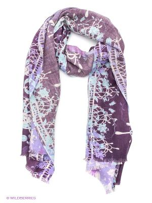 Палантин Eleganzza. Цвет: фиолетовый, серый, сиреневый