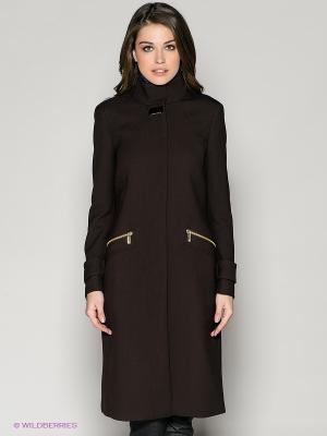 Пальто 18CRR81 CERRUTI. Цвет: коричневый
