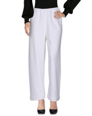 Повседневные брюки W ATE R. Цвет: белый