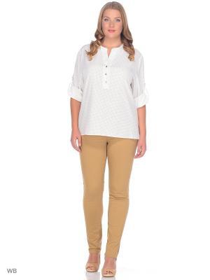 Блузка SARTORI DODICI. Цвет: белый